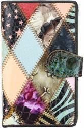 Portofel dama din piele naturala GPD215-Multicolor Portofele
