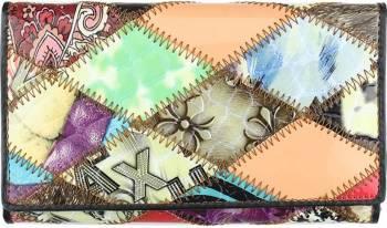 Portofel dama din piele naturala GPD216-Multicolor Portofele