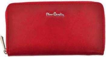 Portofel dama din piele naturala Pierre Cardin GPD103-Rosu Portofele