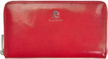 Portofel dama din piele naturala Pierre Cardin GPD111-Rosu Portofele
