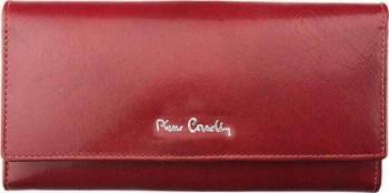 Portofel dama din piele naturala Pierre Cardin GPD114-Rosu Portofele