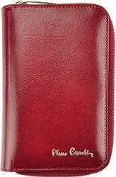 Portofel dama din piele naturala Pierre Cardin GPD115-Visiniu Portofele