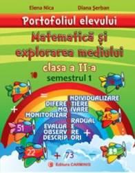 Portofoliul elevului Matematica si explorarea mediului cls 2 semestrul 1 - Elena Nica