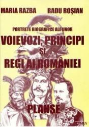 Portrete biografice ale unor voievozi principi si regi ai Romaniei planse - Maria Razba
