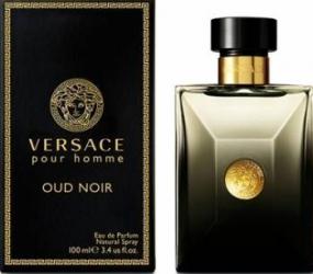 Apa de Parfum Pour Homme Oud Noir by Versace Barbati 100ml