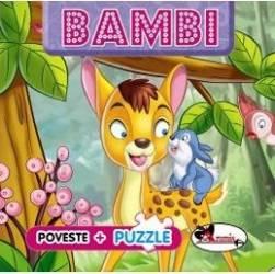 Poveste + Puzzle Bambi