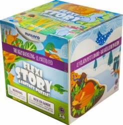 Poveste puzzle Ratusca cea urata - Miniland Puzzle si Lego