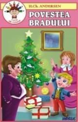 Povestea Bradului - H.Ch. Andersen - Carte De Colorat Carti