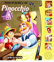 Povesti de ascultat si citit - Pinocchio