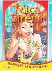 Povesti ilustrate - Mica Sirena