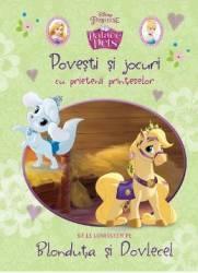 Palace pets - Povesti si jocuri cu prietenii printeselor - Sa le cunoastem pe Blonduta si Dovlecel