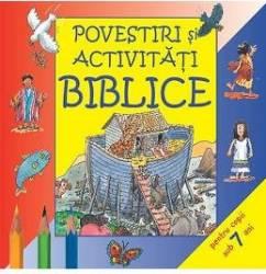 Povestiri si activitati biblice pentru copii sub 7 ani Carti