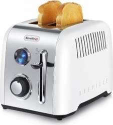 Prajitor de paine Breville VTT519x-01 2 felii Functie reincalzire si dezghetare Alb Prajitoare