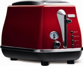 Prajitor de paine DeLonghi CTO2003 ICONA RED Prajitoare