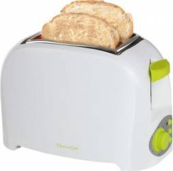 Prajitor de paine Domoclip DOD112V, 750 W, 2 felii, Verde Prajitoare