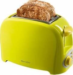 Prajitor de paine Domoclip DOD112V 750 W 2 felii Verde Prajitoare
