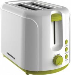 Prajitor de paine Heinner Charm TP-750GR 750W 6 nivele de rumenire Oprire automata 3 functii Alb-Verde Prajitoare