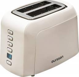 Prajitor de paine Oursson TO2145D 800W 2 felii 7 nivele de putere Alb Prajitoare
