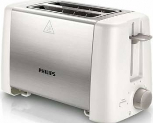 Prajitor de paine Philips HD482500 800 W 2 felii Metalic Prajitoare