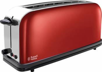 Prajitor de paine Russell Hobbs Flame Red Long Slot 21391-56 Prajitoare