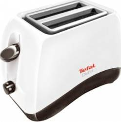 Prajitor de paine Tefal Delfini 2 TT 130130 850W 2 felii 7 nivele de putere Alb
