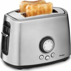 Prajitor de paine Trisa My Toast 7344 7512 1000W 2 felii Oprire automata Argintiu Prajitoare