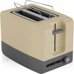 Prajitor de paine Victronic VC890 870 W 2 Felii Crem Prajitoare
