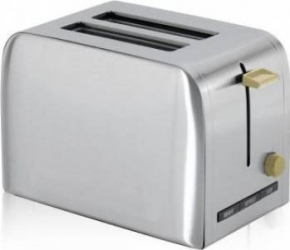 Prajitor de paine Victronic VC891 1050 W 2 Felii Inox Prajitoare