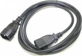Prelungitor cablu alimentare 180 cm Negru Cabluri Periferice