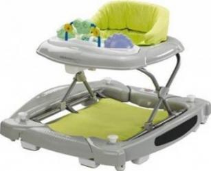 Premergator Bebe Confort Balancelle Baby Walker Animals Green Balansoare, premergatoare, centre activi