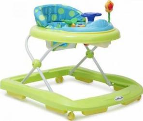 Premergator copii Moni Baby Walker Infinity Verde Balansoare, premergatoare, centre activi
