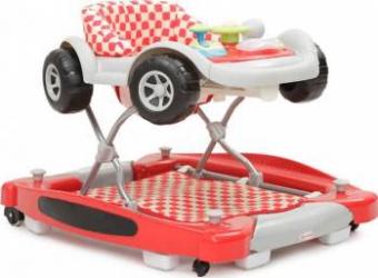 Premergator Copii Si Bebe CANGAROO Car Rosu Balansoare, premergatoare, centre activi