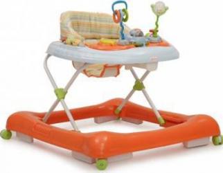Premergator Copii Si Bebe CANGAROO Lucky Orange Balansoare, premergatoare, centre activi
