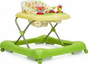Premergator Copii si Bebe CANGAROO Steps Verde Balansoare, premergatoare, centre activi