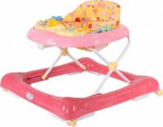 Premergator multifunctional - Sun Baby - Roz Balansoare, premergatoare, centre activi