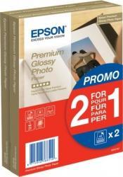 Premium Glossy Photo Paper BOGOF 10 x 15 Epson 2 x 40 Sheets Hartie