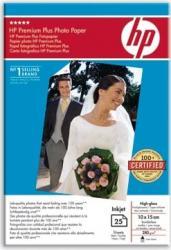 Premium Plus High-gloss Photo Paper Borderless HP 25 sheets Hartie