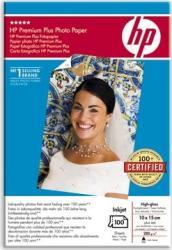 Premium Plus High-gloss Photo Paper HP 100 sheets Hartie