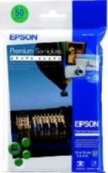 Premium Semigloss Photo Paper Epson 10x15 cm 50 Blatt Hartie