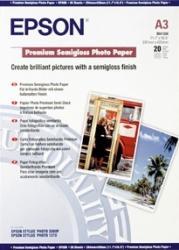 Premium Semigloss Photo Paper Epson DIN A3+ 20 Blatt Hartie