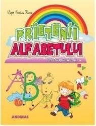 Prietenii alfabetului - Ligia Cristina Florea Carti