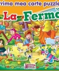 Prima mea carte puzzle - La Ferma Carti