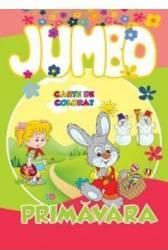 Primavara - Jumbo carte de colorat