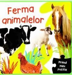 Primul meu puzzle - Ferma animalelor