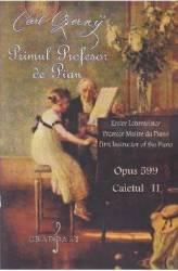 Primul profesor de pian Opus 599 caietul II - Carl Czerny title=Primul profesor de pian Opus 599 caietul II - Carl Czerny