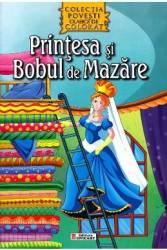 Printesa si bobul de mazare - Povesti clasice de colorat
