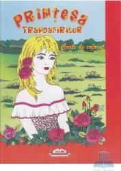 Printesa trandafirilor - Carte de colorat Carti