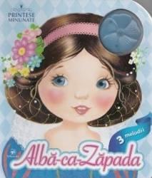 Printese minunate Alba ca Zapada - 3 Melodii Carti