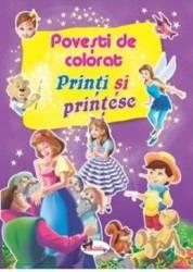 Printi si printese - Povesti de colorat