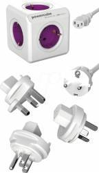 Priza 2 x USB Allocacoc Power Cube ReWirable Prize